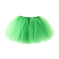 St. Patrick's Day Green Tulle Tutu
