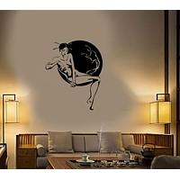 Wall Stickers Vinyl Decal Oriental Japan Geisha Hot Sexy Girl Naked Spa Unique Gift (ig1731)
