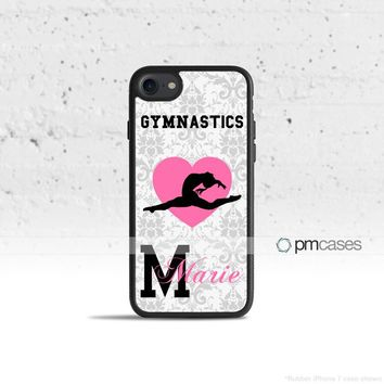 Personalized Gymnastics Case Cover for Apple iPhone iPod Samsung Galaxy S & Note