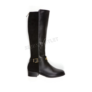 Guess Fashion Riding Boots Haylee Black