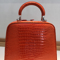 One of a Kind Regular Paradis PM in Orange Crocodile