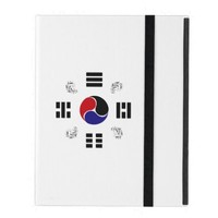 Taegeuk, Taiji, the Great Ultimate, the yin-yang T iPad Folio Case