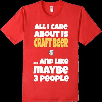 Funny Craft Beer Alcohol Cocktail Drinking Pint T-Shirt