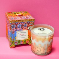 Wild Rose Geranium Soy Wax Candle
