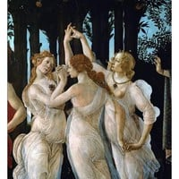 La Primavera, the Three Graces Giclee Print by Sandro Botticelli at AllPosters.com