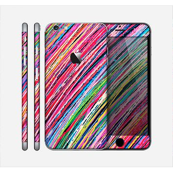 The Abstract Color Strokes Skin for the Apple iPhone 6 Plus