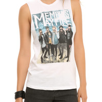Memphis May Fire Glasses Muscle Girls Top