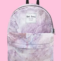 Backpack in Marble | NYLON SHOP