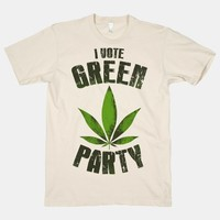 I Vote Green Party