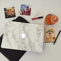Marble MacBook Skin - Made for MacBook Air, MacBook Pro, MacBook Pro Retina Laptops. Select your size from any of our listings.