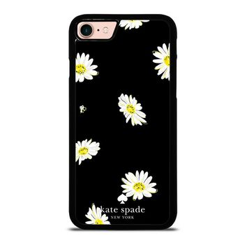 KATE SPADE FLOWER IN BLACK iPhone 8 Case