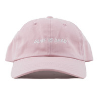 Surf Is Dead Asleep Hat Pink