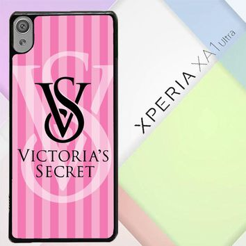 Victoria Secret Logo Pink Z3874 Sony Xperia XA1 Ultra Case