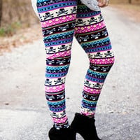 Skull Leggings - Final Sale