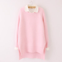 Sweet pullover sweater