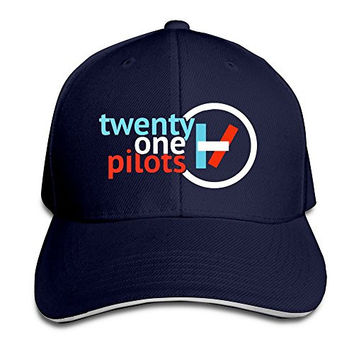 ULUZUS Men's Twenty One Pilots Logo Snapback Hat