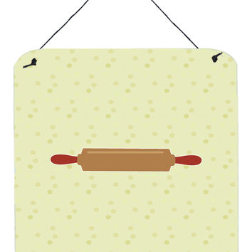 Rolling Pin on Green Wall or Door Hanging Prints BB7301DS66