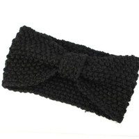 Bestpriceam Fashionable Crochet Bow Knitted Winter Headband Ear Warmer
