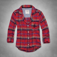 Britt Flannel Sleep Shirt
