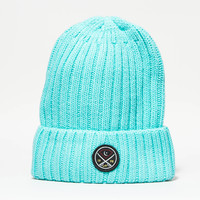 Victory Swords Beanie in Diamond Blue