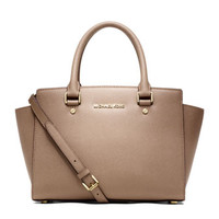 MICHAEL Michael Kors Medium Selma Top-Zip Satchel