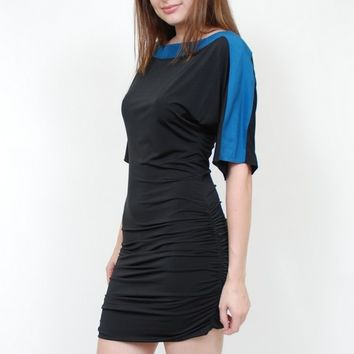 Jay Godfrey Jameson Color Block  Dolman Dress