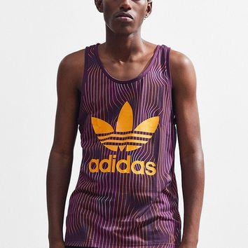 adidas Warped Stripes Tank Top | Urban Outfitters