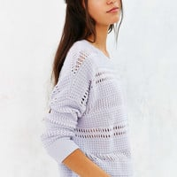 Kimchi Blue Brodie Open-Stitch Sweater - Urban Outfitters