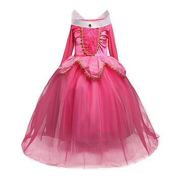 Fairy Tale Little Princess Girl Party Wear Kids Clothes Dresses For Girl ClothesChildren Dresses Kids Party Costume Clothing
