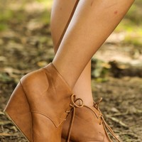 Night Rider Booties-Cognac