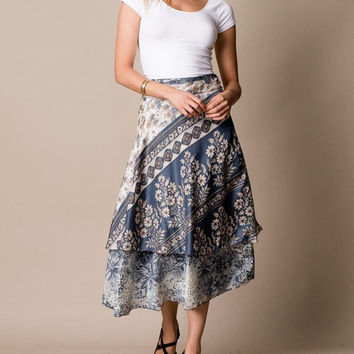 Silk Road Wrap Skirt