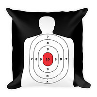Target Man Cave Hand Made Square Throw Pillow