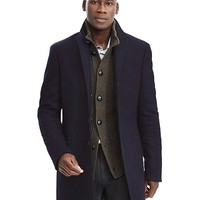 Wool Blend Topcoat | Banana Republic