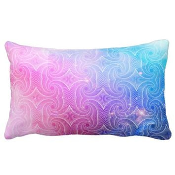 Sacred Geometry 4 Lumbar Pillow