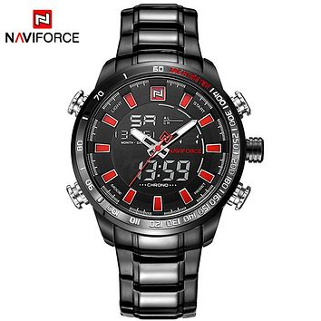 2017 New Luxury Brand Men Sports Army Military Watches Men's Quartz Digital Full Steel Waterproof Wrist Watch relogio masculino