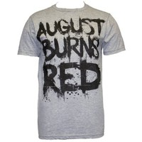 BandMerch August Burns Red Grey Men's T-Shirt (BM5)