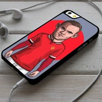 Wayne Rooney Manchester United iPhone 4/4s 5 5s 5c 6 6plus 7 Case
