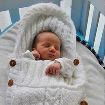 Super Soft Wool Swaddling Blanket