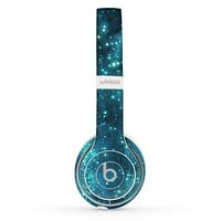 The Glowing Blue Orbs of Light Skin Set for the Beats by Dre Solo 2 Wireless Headphones