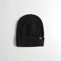 Guys Knit Icon Beanie | Guys 40% Off Winter Favorites | HollisterCo.com