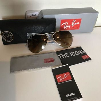 DCCKNY1 Ray Ban Women¡¯s Aviator Sunglasses
