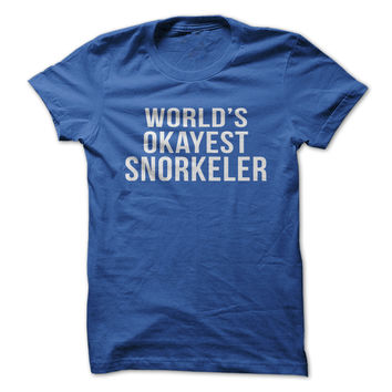 World's Okayest Snorkeler
