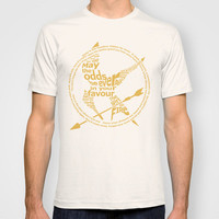 The Hunger Games T-shirt by StueyKeane
