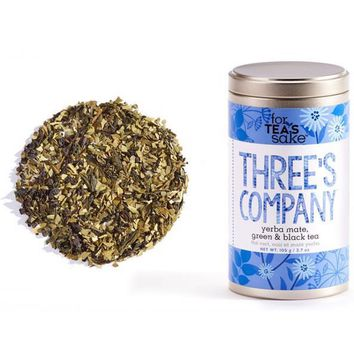 Three's Company Tea - Yerba Mate Loose Leaf Tea