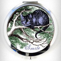 Cheshire Smile Compact Mirror