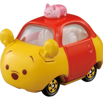 Takaratomy Tomica Disney Motors Tsum Tsum DMT-05 Mini Car Figure with Top Win...