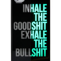 Yamamoto Industries INHALEEXHALE GLOWINTHEDARK iPhone 44S Case : Karmaloop.com - Global Concrete Culture