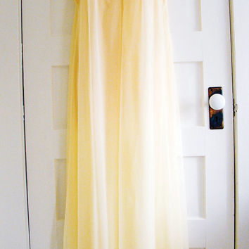 Vintage 60s Gossard Armetis Full Length Nightgown