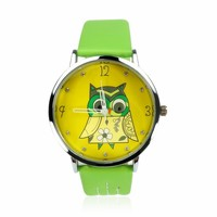 YCW Cute Owl Ladies Watch