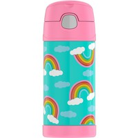 Thermos Crckt 12oz Funtainer Water Bottle - Rainbow